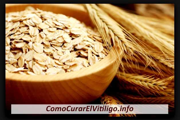 Tratamiento con Avena para el Vitiligo