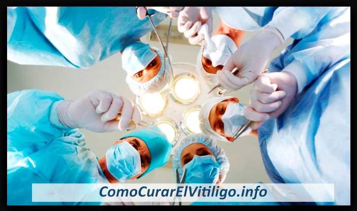 tratamiento quirurgico para vitiligo